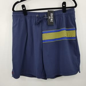 Rhone The Fletch Blue Swim Trunks